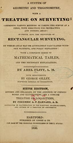 A system of geometry and trigonometry : Flint, Abel, 1765-1825,Gillet,
