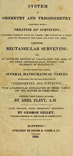 A system of geometry and trigonometry, together: Flint, Abel, 1765-1825