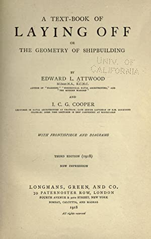 A text-book of laying off, or, The: Attwood, Edward L.
