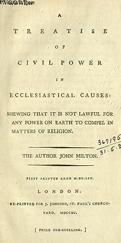 Treatise of Civil Power