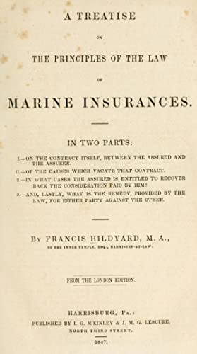 A treatise on the principles of the: Hildyard, Francis
