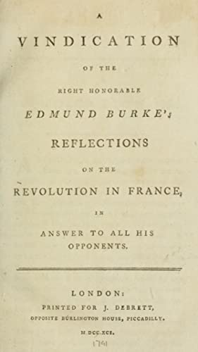 A vindication of the Right Honorable Edmund: Goold, Thomas, 1766?-1846