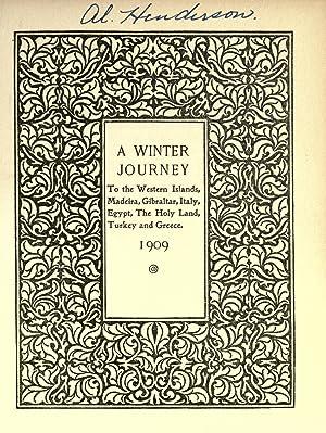 A winter journey to the western islands,: Davis, Clara Biddle,Davis,