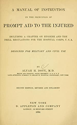 A manual of instruction in the principles: Doty, Alvah H.