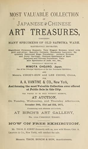 A most valuable collection of Japanese and: T. Birch &