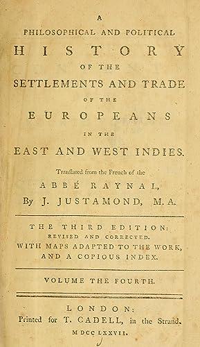 Philosophical Political History Settlements Trade Europeans East