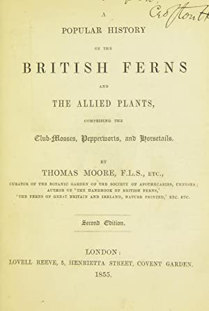 A popular history of the British ferns: Moore, Thomas, 1821-1887