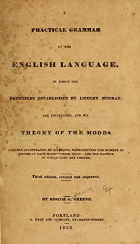 A practical grammar of the English language: Greene, Roscoe G.
