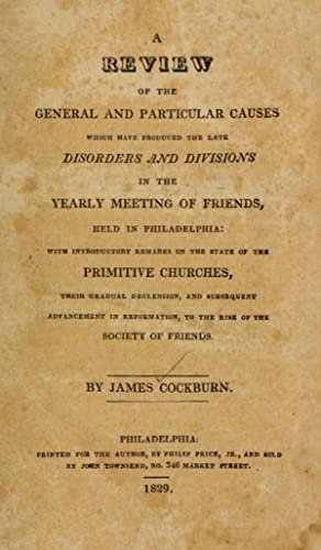 A review of the general and particular: Cockburn, James, 1776-1837