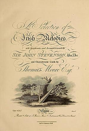 A selection of Irish melodies (1807) [Reprint]: Stevenson, John, 1761-1833,Moore,