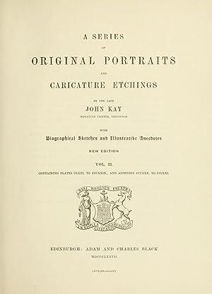 A series of original portraits and caricature: Kay, John, 1742-1826