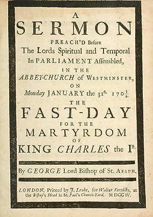A sermon preach'd before the Lords spiritual: Hooper, George, 1640-1727