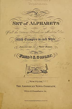 A set of alphabets of all the: Copley, Frederick S