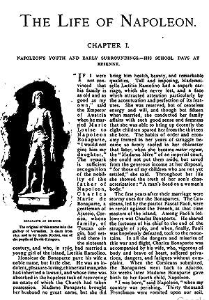 A short life of Napoleon Bonaparte (1896): Tarbell, Ida M.