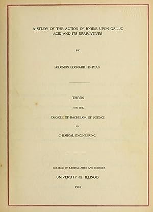 A study of the action of iodine: Fishman, Solomon Leonard