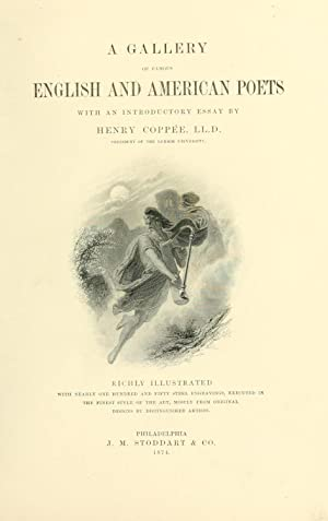 A gallery of famous English and American: Coppée, Henry, 1821-1895