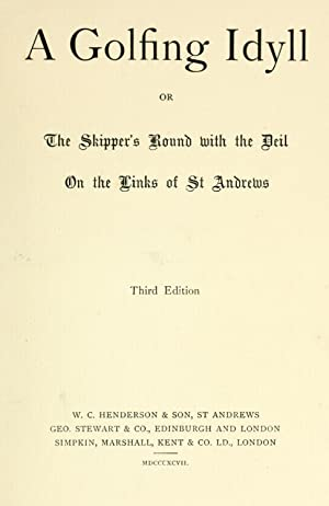 A golfing idyll; or, The skipper's round: Flint, Violet