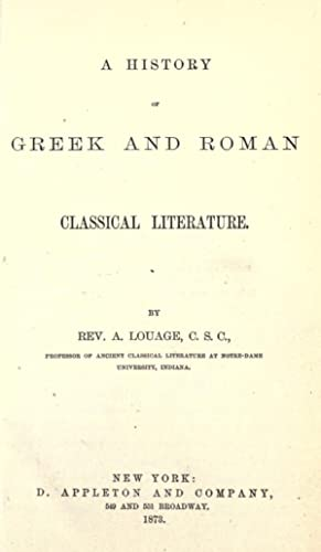 A history of Greek and Roman classical: Louage, A