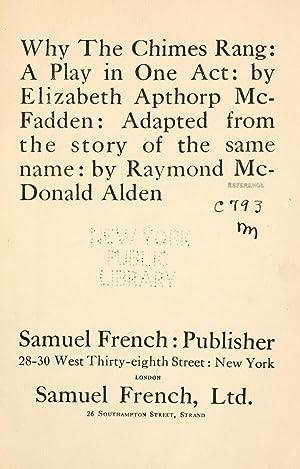 Why the chimes rang [Reprint]: McFadden, Elizabeth A.