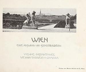 Wien : eine Auswahl von Stadtbildern =: Gerlach, Martin,Mayreder, Karl