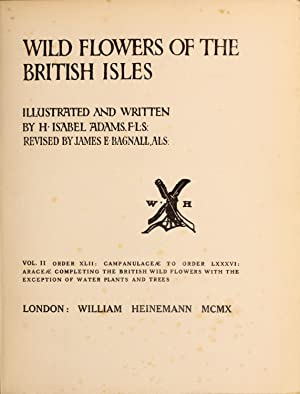 Wild Flowers of the British Isles (1910): Adams, H. Isabel