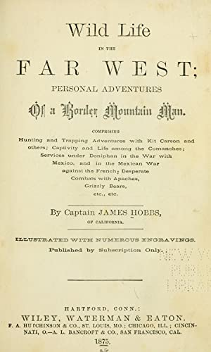 Wild life in the far West : Hobbs, James, b.