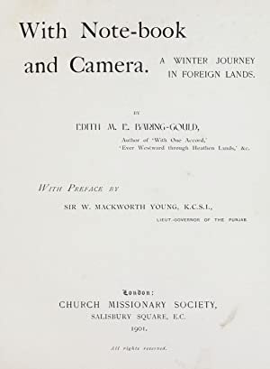 With note-book and camera : a winter: Baring-Gould, Edith M.