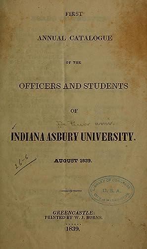 Year book [Reprint] (1839): De Pauw university,