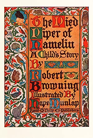 the pied piper of hamelin poem