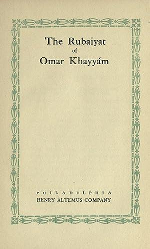 The Rubáiyát of Omar Khayyam [Reprint]: Omar Khayyam,Hay, John,