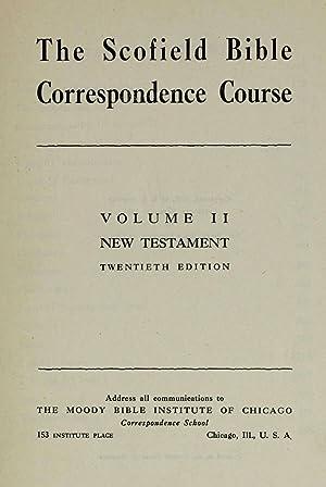 The Scofield Bible correspondence course (1907) (Volume: Scofield, C. I.