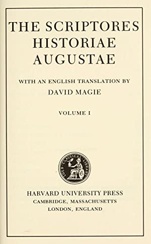 The Scriptores historiae augustae with an English