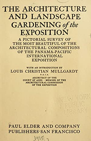 The architecture and landscape gardening of the: Mullgardt, Louis Christian,