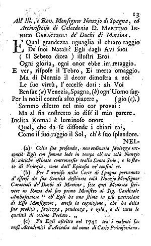 Varie composizion poetiche dal dottor di medicina: Francesco Paolo Motolese