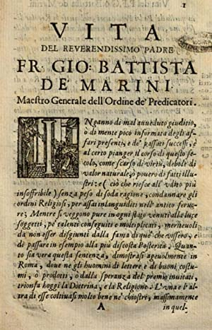 Vita del reverendissimo padre f. Gio. Battista: Giovanni Battista Pacichelli
