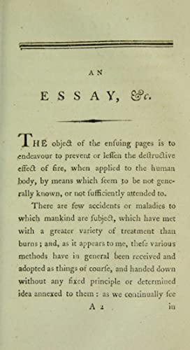 An essay on the means of lessening: Earle, James, Sir,