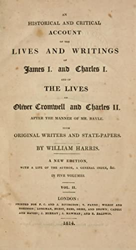 An historical and critical account of the: Harris, William, 1720-1770