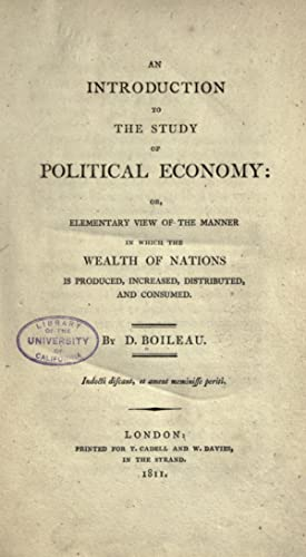 An introduction to the study of political: Boileau, D. (Daniel)