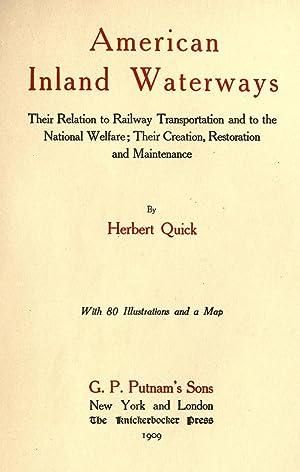 American Inland Waterways, Their Relation Railway