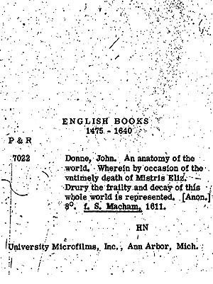 John Donne - Seller-Supplied Images - Books - AbeBooks
