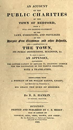 An account of the public charities of: Hankin, R. B.