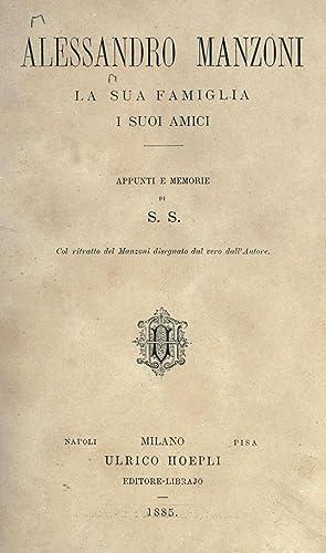 Alessandro Manzoni : la sua famiglia, i: Stampa, Stefano, Conte,