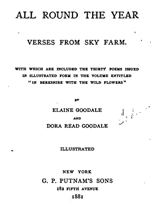 All round the year verses from Sky: Eastman, Elaine Goodale,