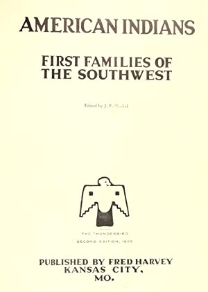American Indians : first families of the: Huckel, John Frederick,