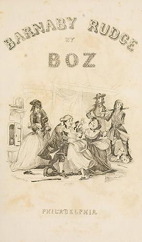 Barnaby Rudge (1841) [Reprint]: Dickens, Charles, 1812-1870
