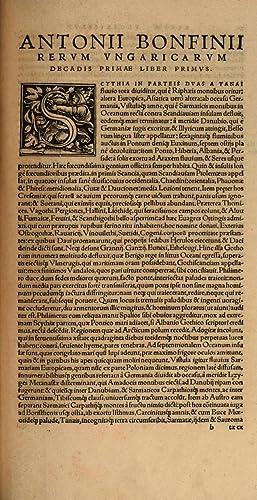 Antonii Bonfinii rerum Ungaricarum decades tres nunc: Antonio Bonfini