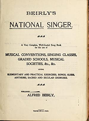 Beirly's national singer : a very complete,: Beirly, Alfred