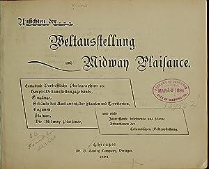 Ansichten der weltausstellung und Midway plaisance (1894): Conkey, W. B.,