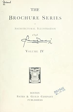 Brochure Series of Architectural Illustration [Reprint] Volume: