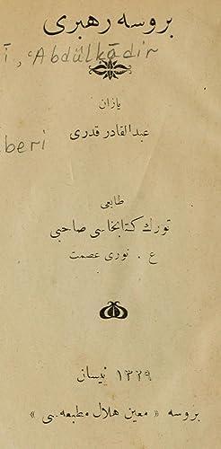 Br?sa rehberi (1913) [Reprint]: adr, 'Abdüldir